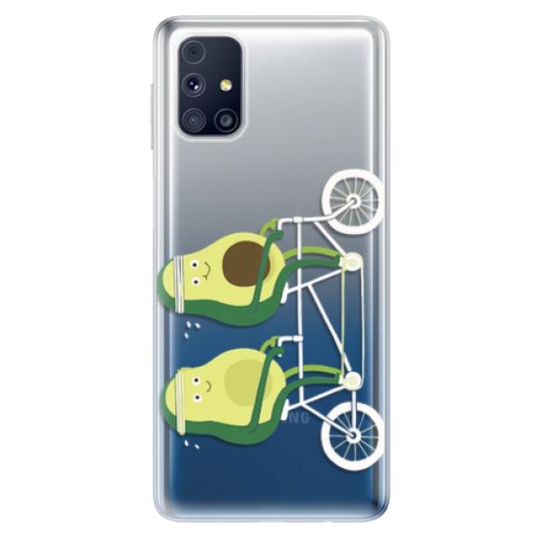 Odolné silikonové pouzdro iSaprio - Avocado - Samsung Galaxy M31s