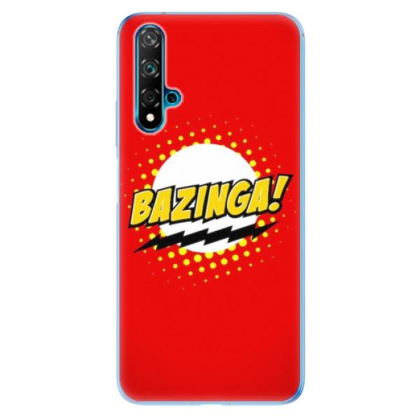 Odolné silikonové pouzdro iSaprio - Bazinga 01 - Huawei Nova 5T