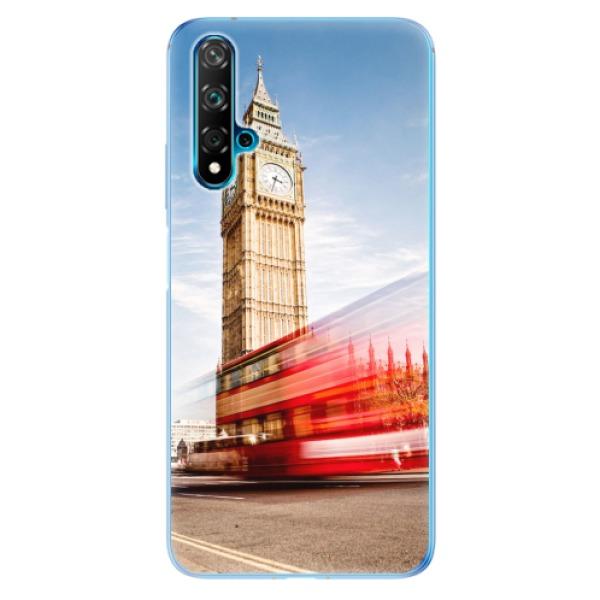 Odolné silikonové pouzdro iSaprio - London 01 - Huawei Nova 5T