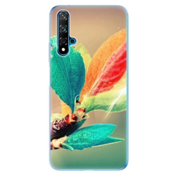 Odolné silikonové pouzdro iSaprio - Autumn 02 - Huawei Nova 5T