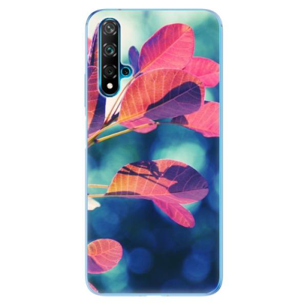 Odolné silikonové pouzdro iSaprio - Autumn 01 - Huawei Nova 5T