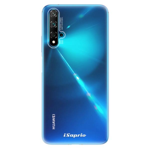Odolné silikonové pouzdro iSaprio - 4Pure - mléčný bez potisku - Huawei Nova 5T