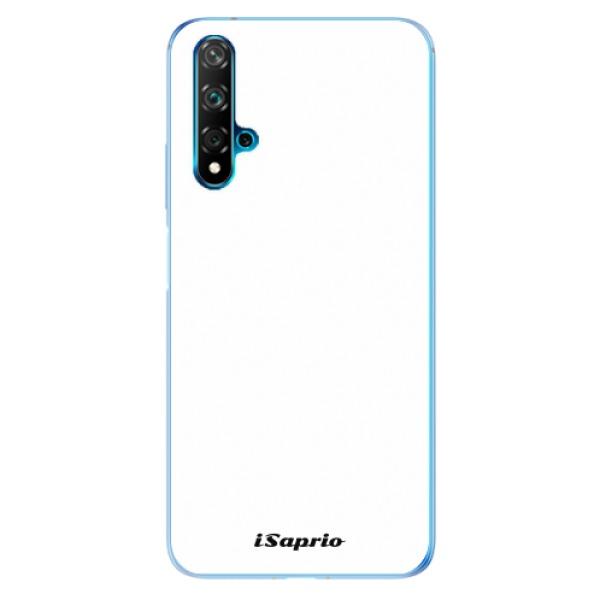 Odolné silikonové pouzdro iSaprio - 4Pure - bílý - Huawei Nova 5T