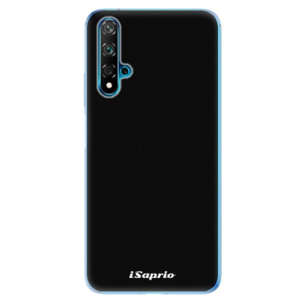 Odolné silikonové pouzdro iSaprio - 4Pure - černý - Huawei Nova 5T