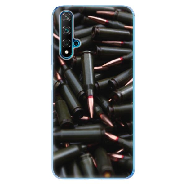 Odolné silikonové pouzdro iSaprio - Black Bullet - Huawei Nova 5T