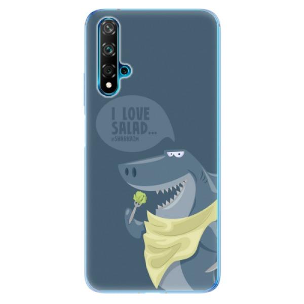 Odolné silikonové pouzdro iSaprio - Love Salad - Huawei Nova 5T