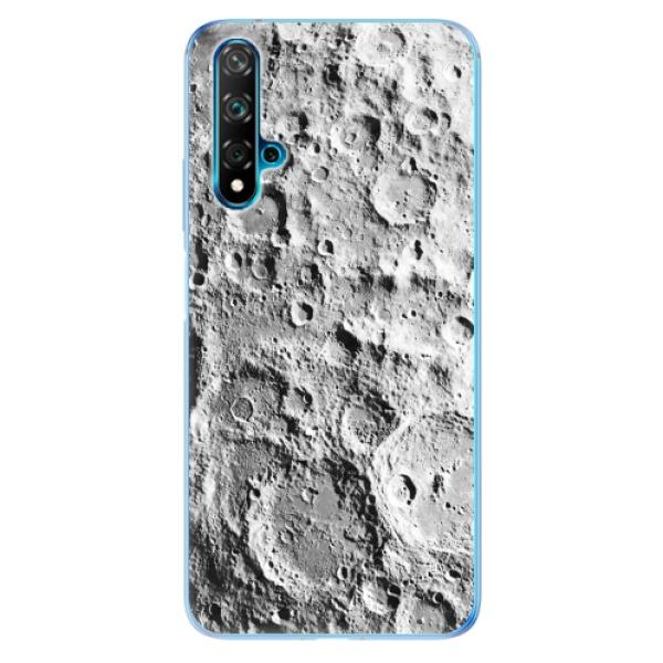 Odolné silikonové pouzdro iSaprio - Moon Surface - Huawei Nova 5T