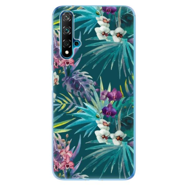 Odolné silikonové pouzdro iSaprio - Tropical Blue 01 - Huawei Nova 5T