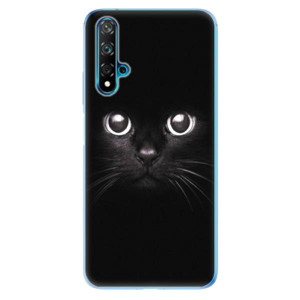 Odolné silikonové pouzdro iSaprio - Black Cat - Huawei Nova 5T