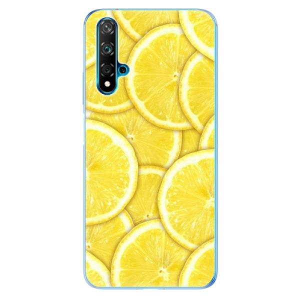 Odolné silikonové pouzdro iSaprio - Yellow - Huawei Nova 5T
