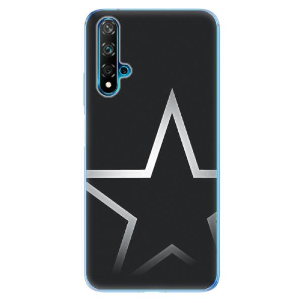 Odolné silikonové pouzdro iSaprio - Star - Huawei Nova 5T