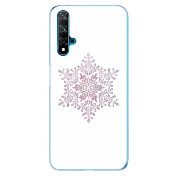 Odolné silikonové pouzdro iSaprio - Snow Flake - Huawei Nova 5T