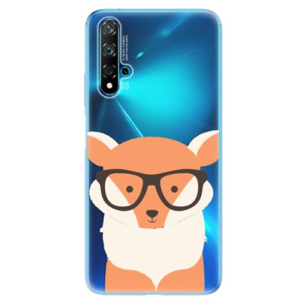 Odolné silikonové pouzdro iSaprio - Orange Fox - Huawei Nova 5T