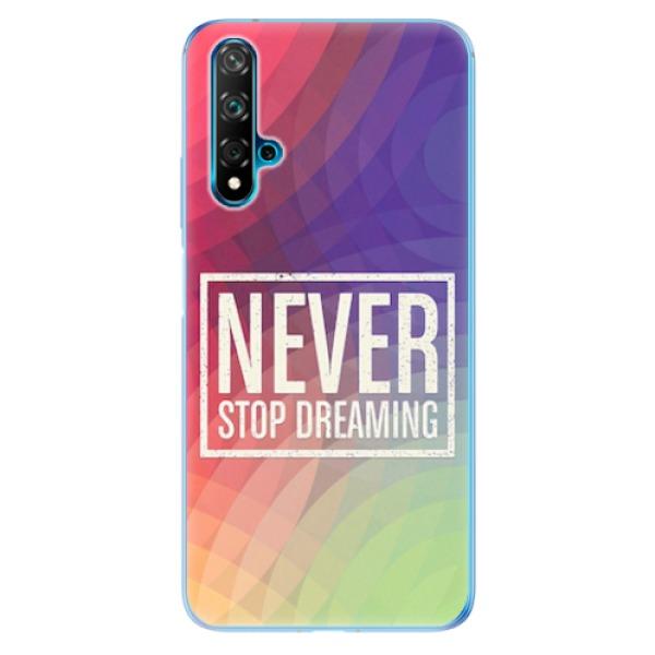 Odolné silikonové pouzdro iSaprio - Dreaming - Huawei Nova 5T