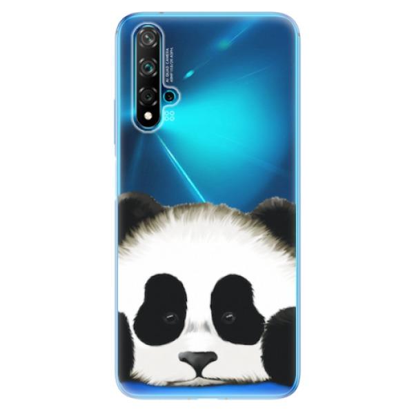 Odolné silikonové pouzdro iSaprio - Sad Panda - Huawei Nova 5T