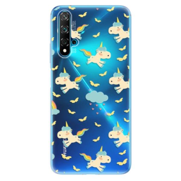 Odolné silikonové pouzdro iSaprio - Unicorn pattern 01 - Huawei Nova 5T