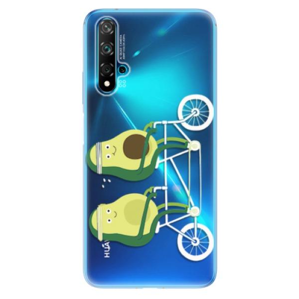Odolné silikonové pouzdro iSaprio - Avocado - Huawei Nova 5T