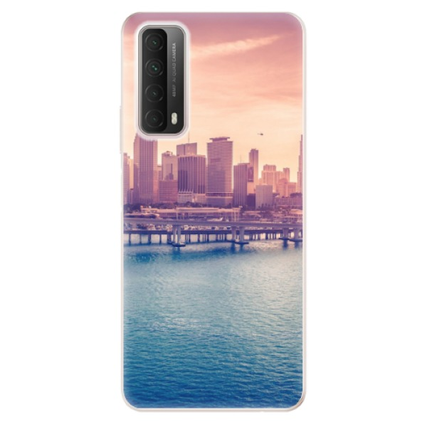 Odolné silikonové pouzdro iSaprio - Morning in a City - Huawei P Smart 2021