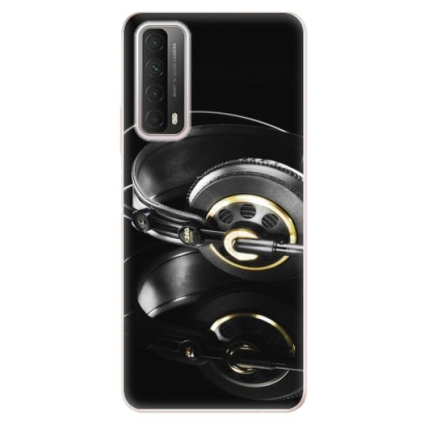 Odolné silikonové pouzdro iSaprio - Headphones 02 - Huawei P Smart 2021