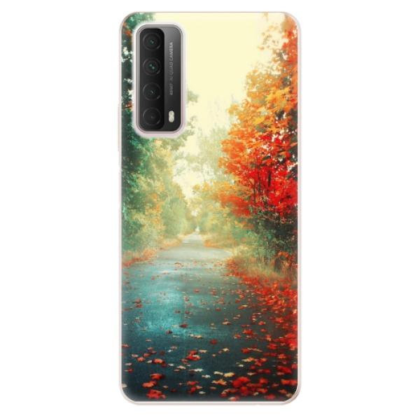Odolné silikonové pouzdro iSaprio - Autumn 03 - Huawei P Smart 2021