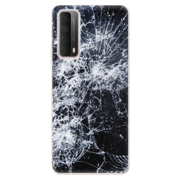 Odolné silikonové pouzdro iSaprio - Cracked - Huawei P Smart 2021