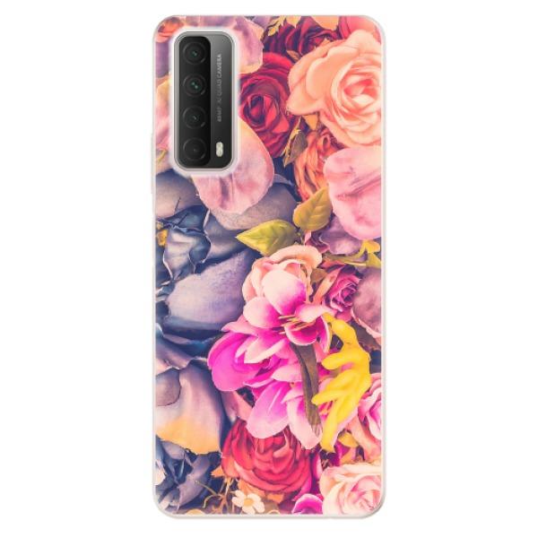 Odolné silikonové pouzdro iSaprio - Beauty Flowers - Huawei P Smart 2021