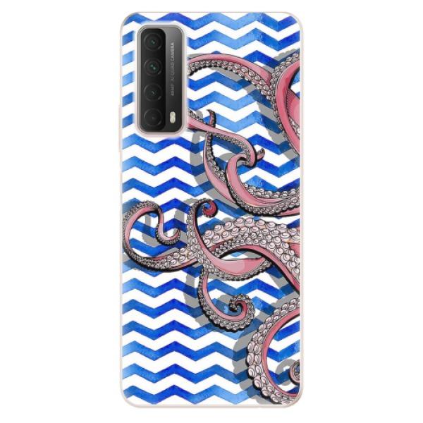 Odolné silikonové pouzdro iSaprio - Octopus - Huawei P Smart 2021