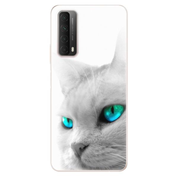 Odolné silikonové pouzdro iSaprio - Cats Eyes - Huawei P Smart 2021
