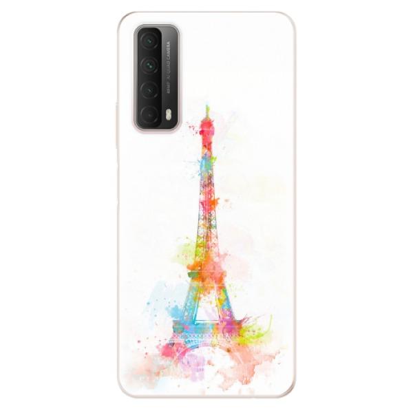 Odolné silikonové pouzdro iSaprio - Eiffel Tower - Huawei P Smart 2021