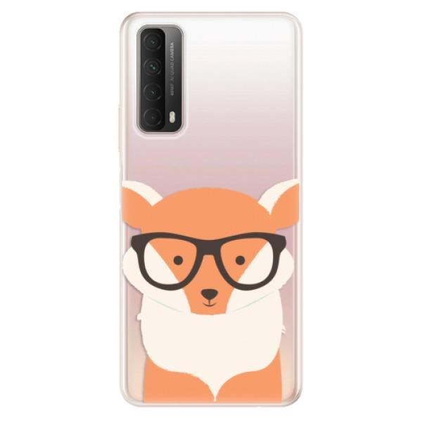 Odolné silikonové pouzdro iSaprio - Orange Fox - Huawei P Smart 2021