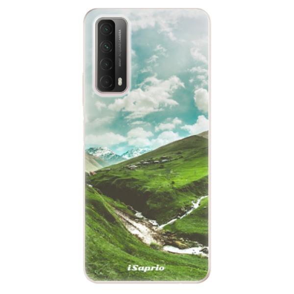 Odolné silikonové pouzdro iSaprio - Green Valley - Huawei P Smart 2021