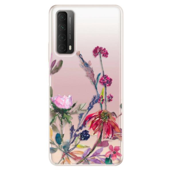 Odolné silikonové pouzdro iSaprio - Herbs 02 - Huawei P Smart 2021