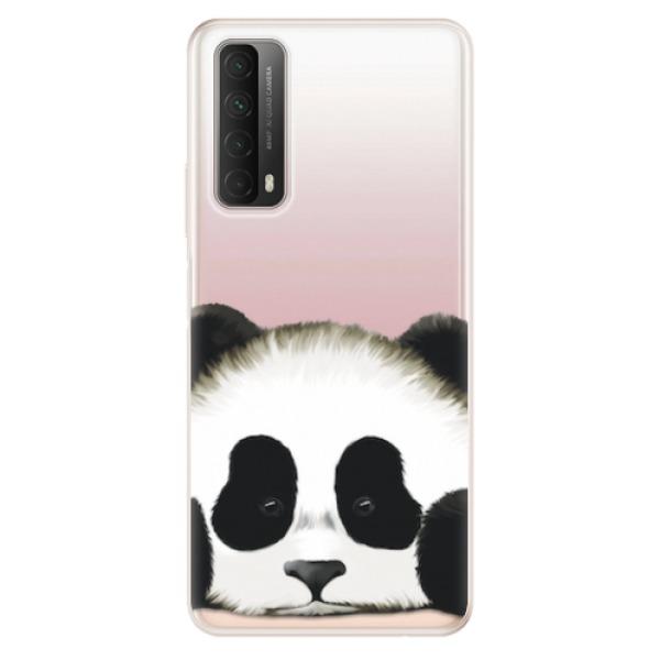 Odolné silikonové pouzdro iSaprio - Sad Panda - Huawei P Smart 2021