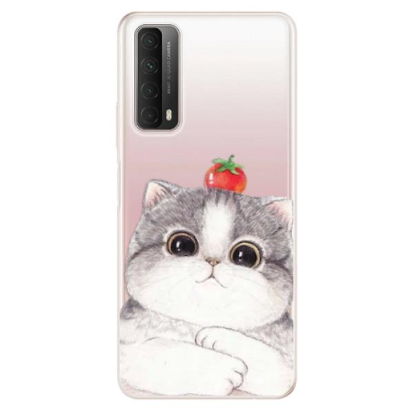 Odolné silikonové pouzdro iSaprio - Cat 03 - Huawei P Smart 2021