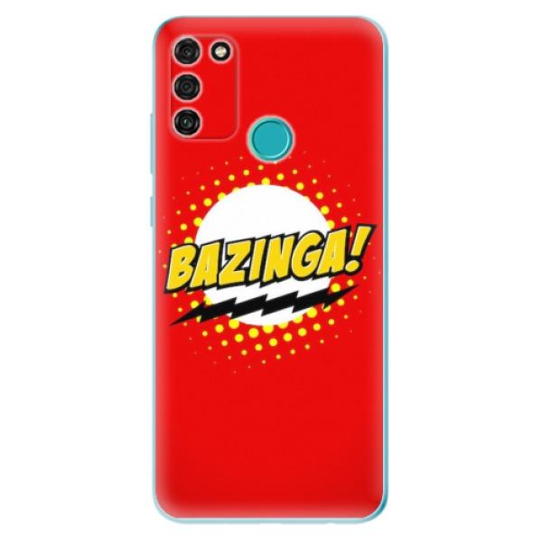 Odolné silikonové pouzdro iSaprio - Bazinga 01 - Honor 9A
