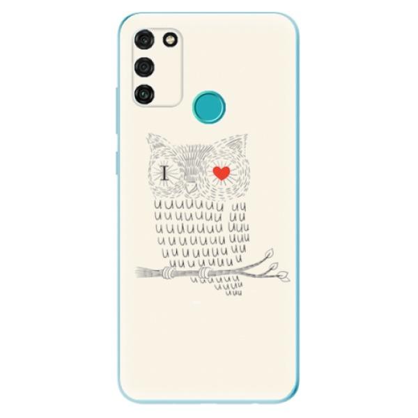 Odolné silikonové pouzdro iSaprio - I Love You 01 - Honor 9A