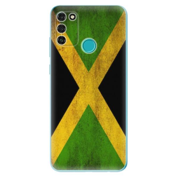Odolné silikonové pouzdro iSaprio - Flag of Jamaica - Honor 9A