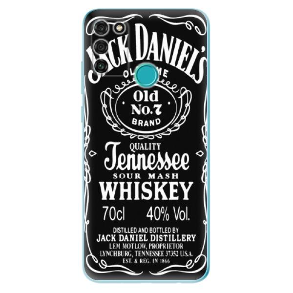 Odolné silikonové pouzdro iSaprio - Jack Daniels - Honor 9A