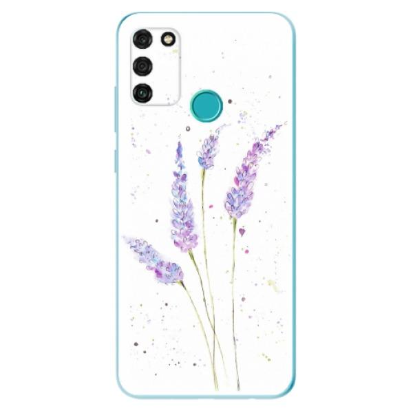 Odolné silikonové pouzdro iSaprio - Lavender - Honor 9A