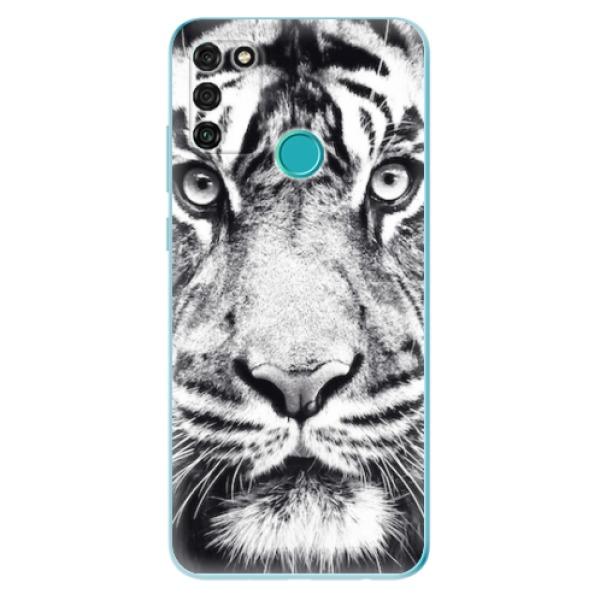 Odolné silikonové pouzdro iSaprio - Tiger Face - Honor 9A