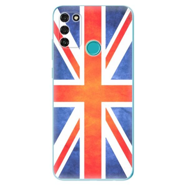 Odolné silikonové pouzdro iSaprio - UK Flag - Honor 9A