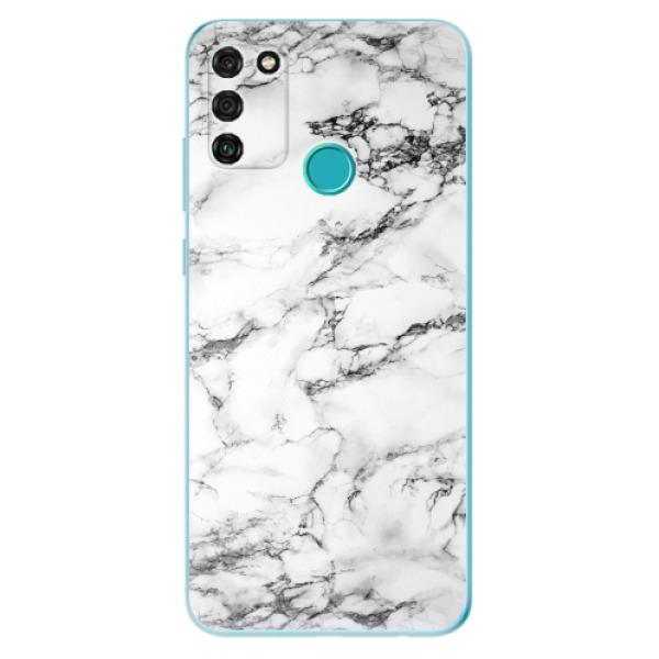 Odolné silikonové pouzdro iSaprio - White Marble 01 - Honor 9A