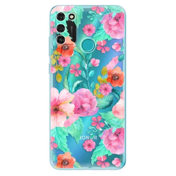 Odolné silikonové pouzdro iSaprio - Flower Pattern 01 - Honor 9A