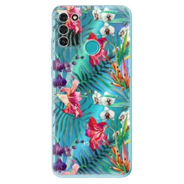 Odolné silikonové pouzdro iSaprio - Flower Pattern 03 - Honor 9A