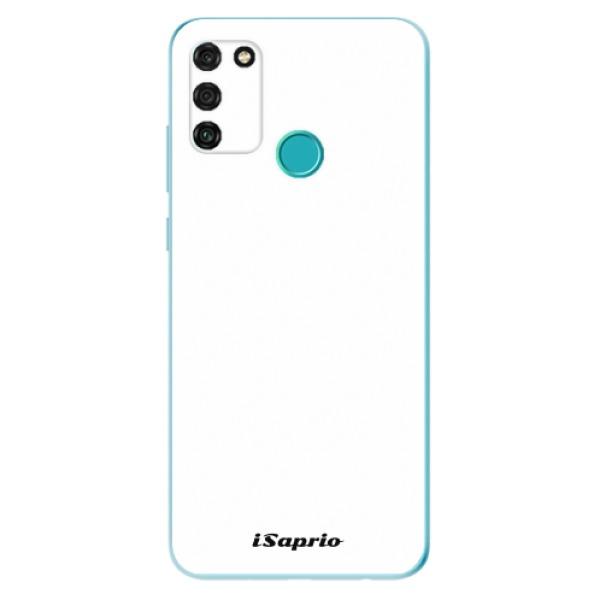 Odolné silikonové pouzdro iSaprio - 4Pure - bílý - Honor 9A