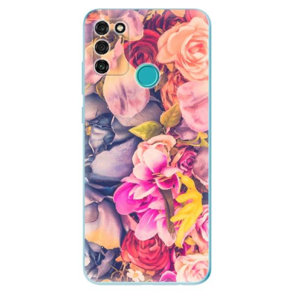 Odolné silikonové pouzdro iSaprio - Beauty Flowers - Honor 9A