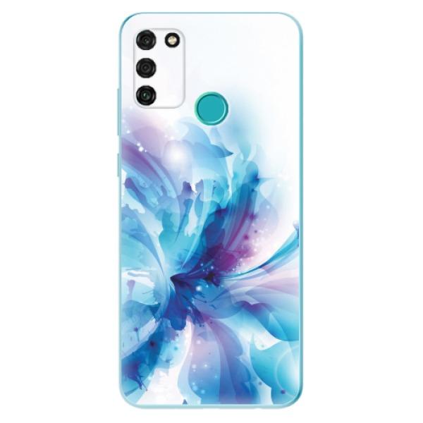Odolné silikonové pouzdro iSaprio - Abstract Flower - Honor 9A