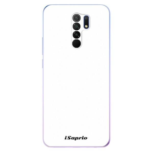 Odolné silikonové pouzdro iSaprio - 4Pure - bílý - Xiaomi Redmi 9