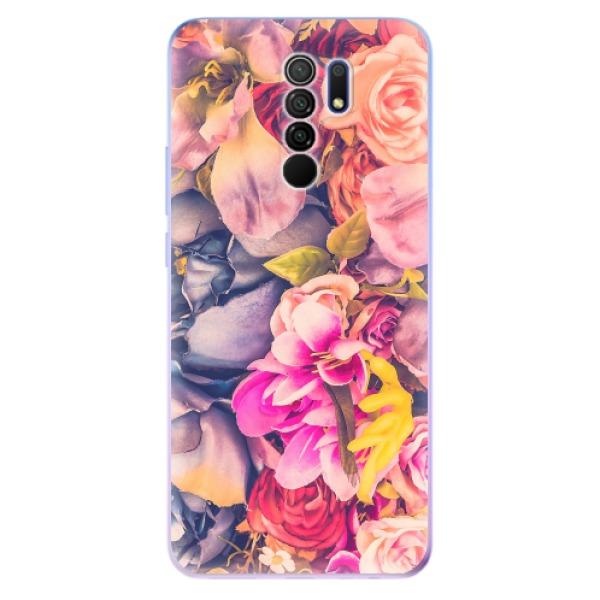 Odolné silikonové pouzdro iSaprio - Beauty Flowers - Xiaomi Redmi 9