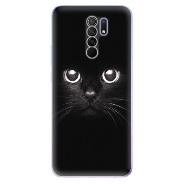 Odolné silikonové pouzdro iSaprio - Black Cat - Xiaomi Redmi 9